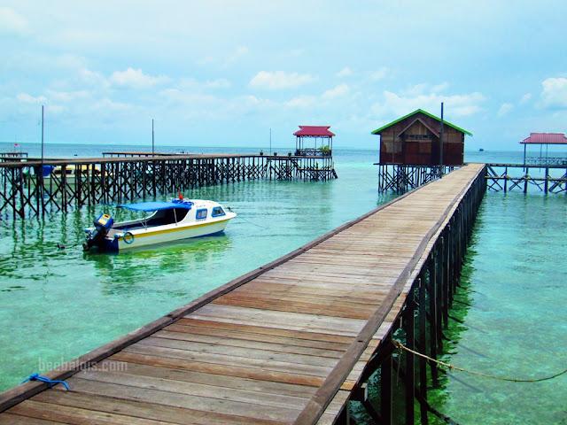 Suasana di Pulau Derawan