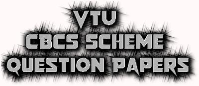 VTU CBCS Scheme Question Papers Download