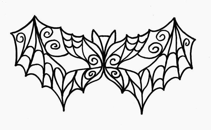 masquerade ball masks templates - diy masquerade bat mask ilovetocreate