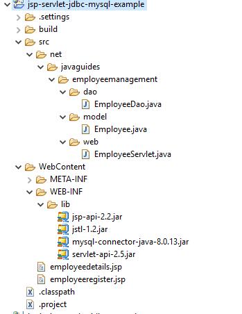 Registration Form using JSP + Servlet + JDBC + Mysql Example