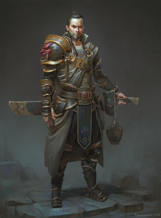 Naranbaatar Ganbold artstation arte ilustrações fantasia games medieval oriental