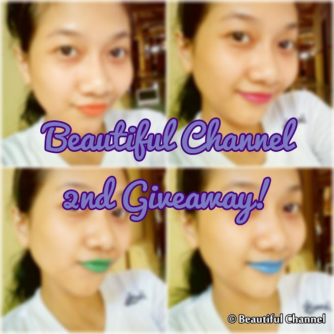 Beautiful Channel 2nd Giveaway!