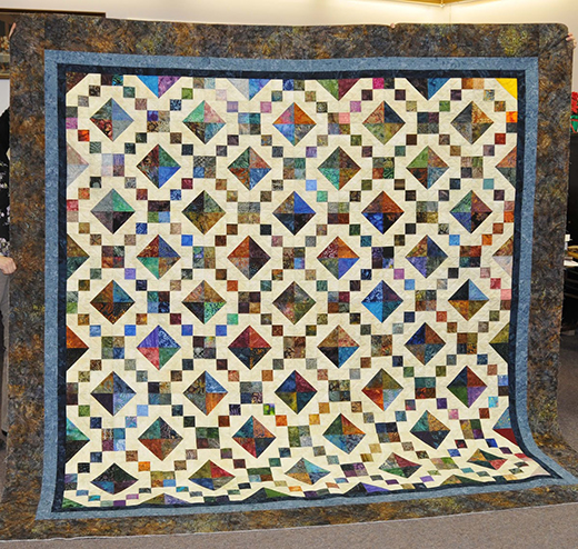 Sandra's Jewel Box Quilt Free Pattern
