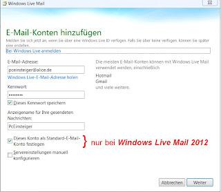 regel erstellen windows mail