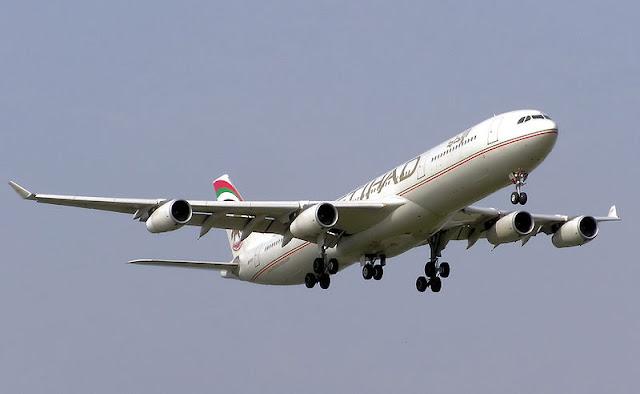 Gambar Pesawat Airbus A340 07