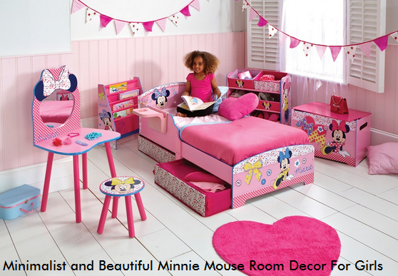 Minimalist and Beautiful Minnie Mouse Room Decor For Girls ...