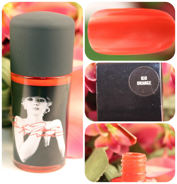 Mac's Marilyn Monroe Kid Orange Nail Polish
