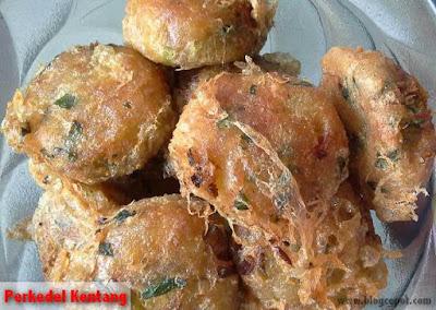 cara membuat perkedel kentang ala rumah makan padang