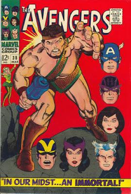 Avengers #38, Hercules