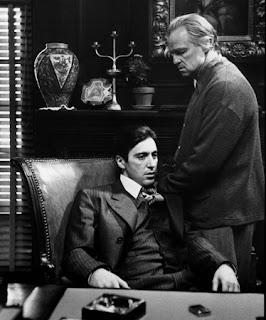 Al Pacino and Marlon Brando
