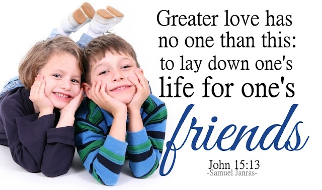Love Friends Bible Quotes Wallpapers