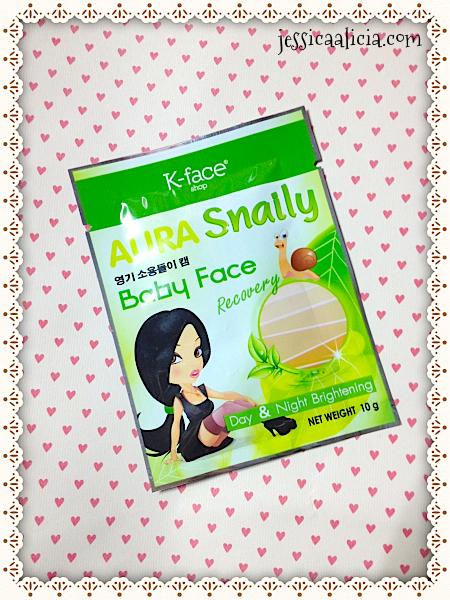 Review : K-face shop Aura Snaily & Aura Wink Cream by Jessica Alicia