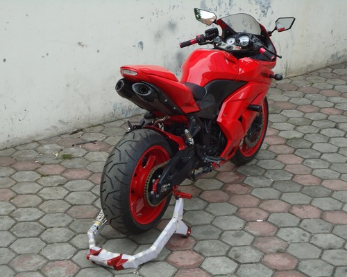 Top modif ninja 250 karbu