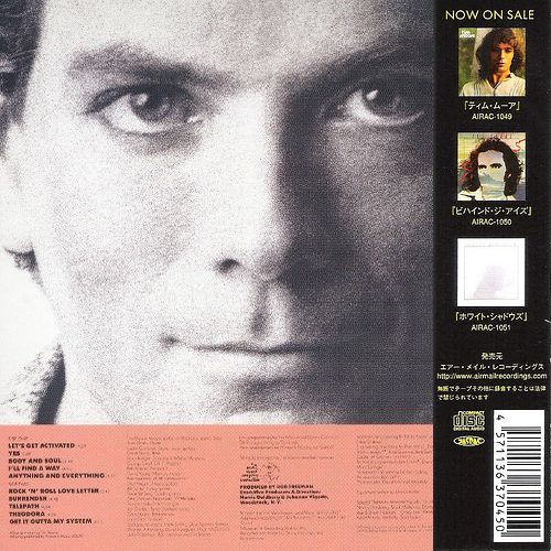 TIM MOORE - Flash Forward [Japanese Ltd Edition remastered] (1984) back