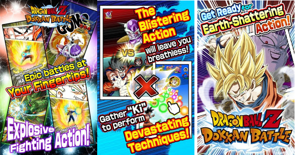 Download Dragon Ball Z Dokan Battle APK (Damage + God Mode)