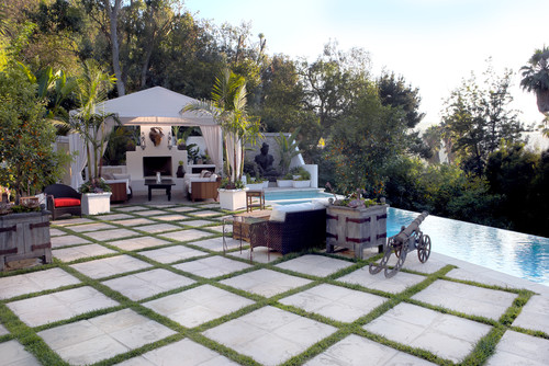 patio with pool ideas