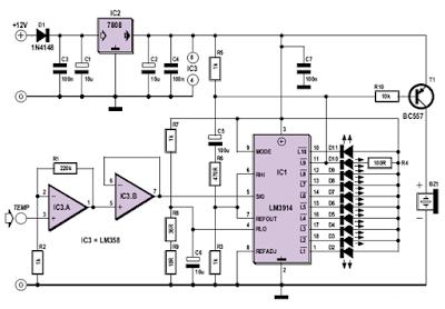 Oil Temperature Gauge Circuit Diagram