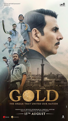 Akshay Kumar Gold Movie 2018 Poster
