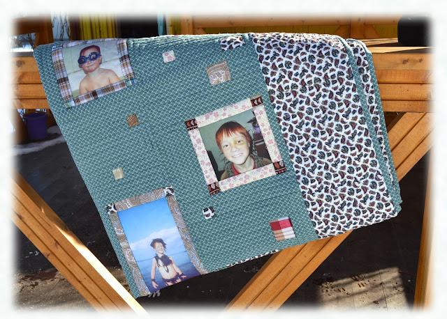 одеяло с фотографиями своими руками