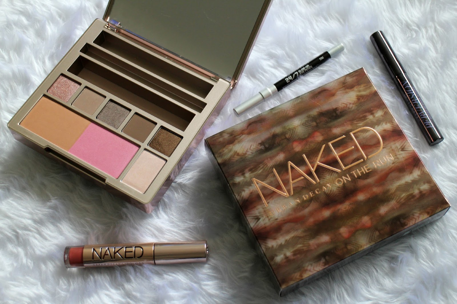 Naked On The Run Palette Review