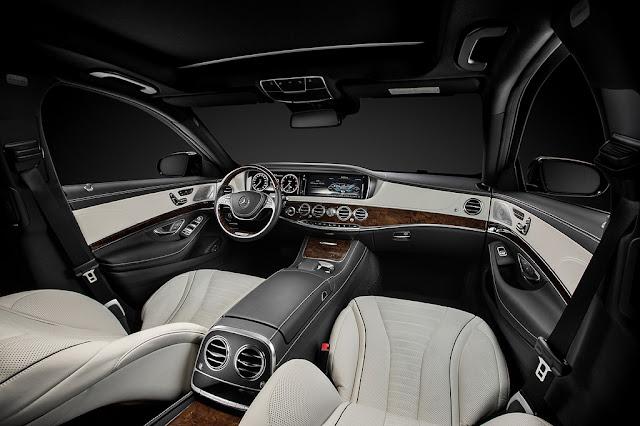 Mercedes Benz S Class cabin