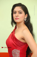 Actress Zahida Sam Latest Stills in Red Long Dress at Badragiri Movie Opening .COM 0020.JPG