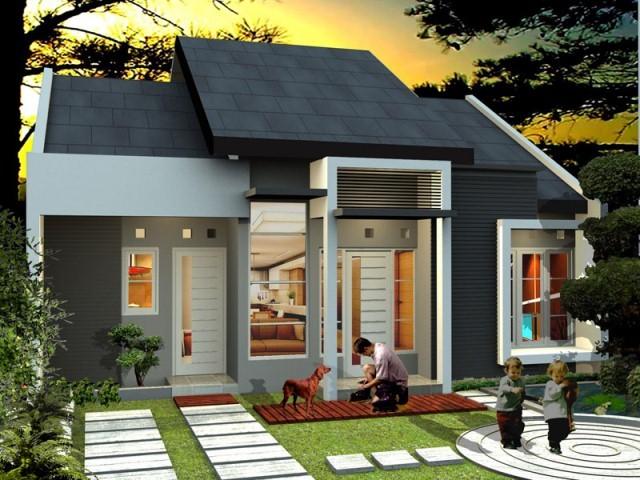 model rumah sederhana minimalis 2
