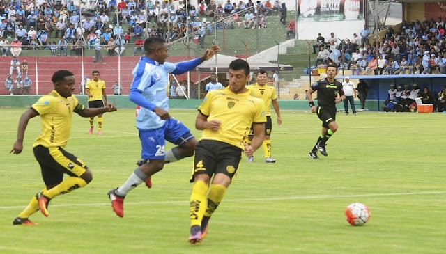 Fuerza Amarilla vs Macara en vivo online