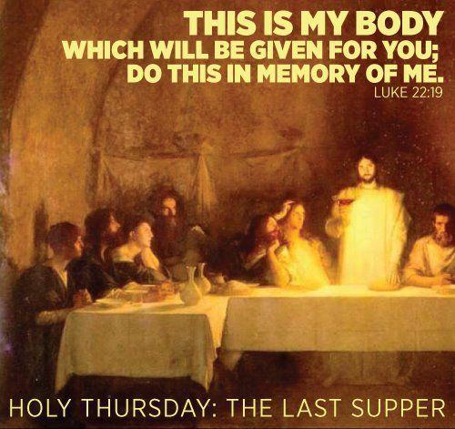 Catholic Quote Wallpaper Holy Thursday Catholic Quote
