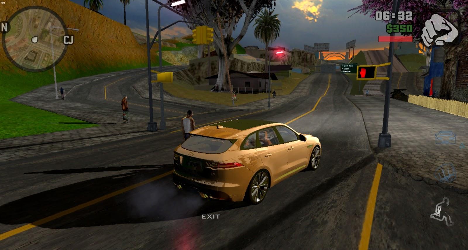 Grand Theft Auto San Andreas GTA Cleo Cheat Mega Mod Apk Data HD