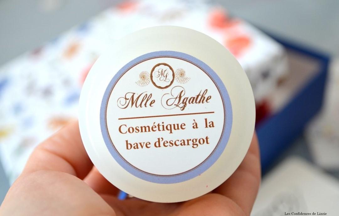 Box - box beauté - box lifestyle - Sweetie - bio - naturel - cosmétiques bio - cosmétiques naturels - Mlle Agathe - bave d'escargot