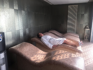 thermal suite at formby hall spa
