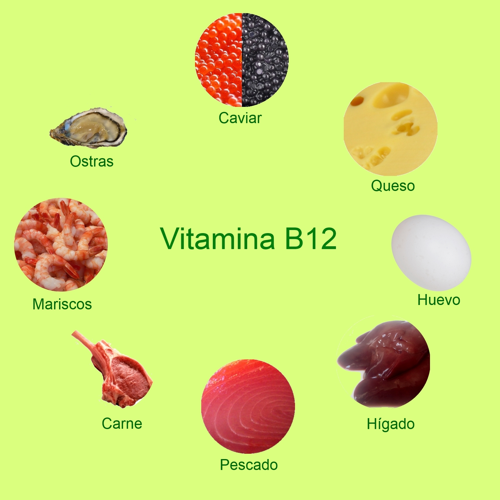 Mini posts de despierta t que duermes vitamina b12 for Comidas con d