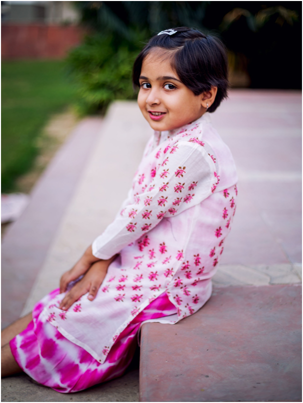 Buy Indo Western Dresses for Baby Girl