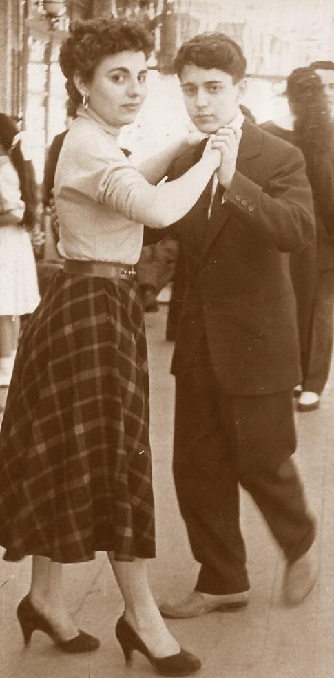 Los ajedrecistas María Lluïsa y Antoni Puget