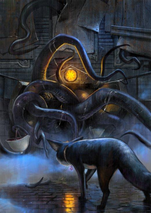 Antti Hakosaari deviantart artstation arte ilustrações fantasia ficção sombria terror