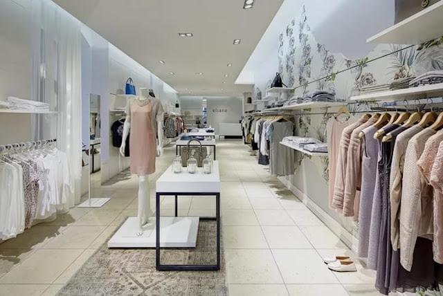 thiết kế shop thời trang nữ đẹp - mẫu số 2