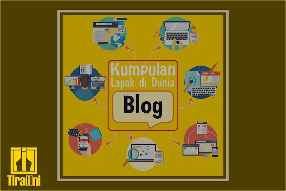 Kumpulan Lapak di Dunia Blog