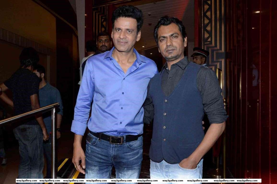 Nawazuddin Siddiqui descended at a special screening of Manoj Bajpayees Aligarh