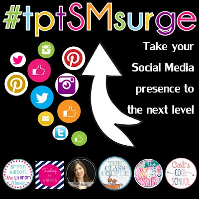 TPT Social Media Surge is a four week event designed to help you establish your presence on social media. Join our Facebook group for all the details.