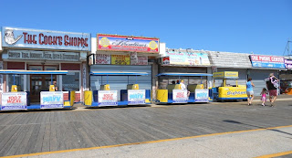 The Tram Car on the Boardwalk in Wildwood