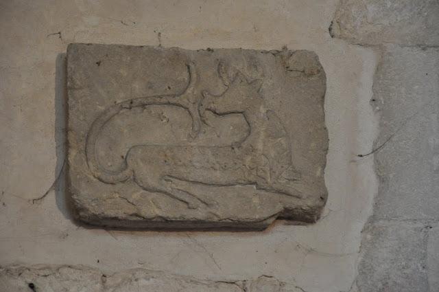 Kolegiata wiślicka - romański detal kamienny