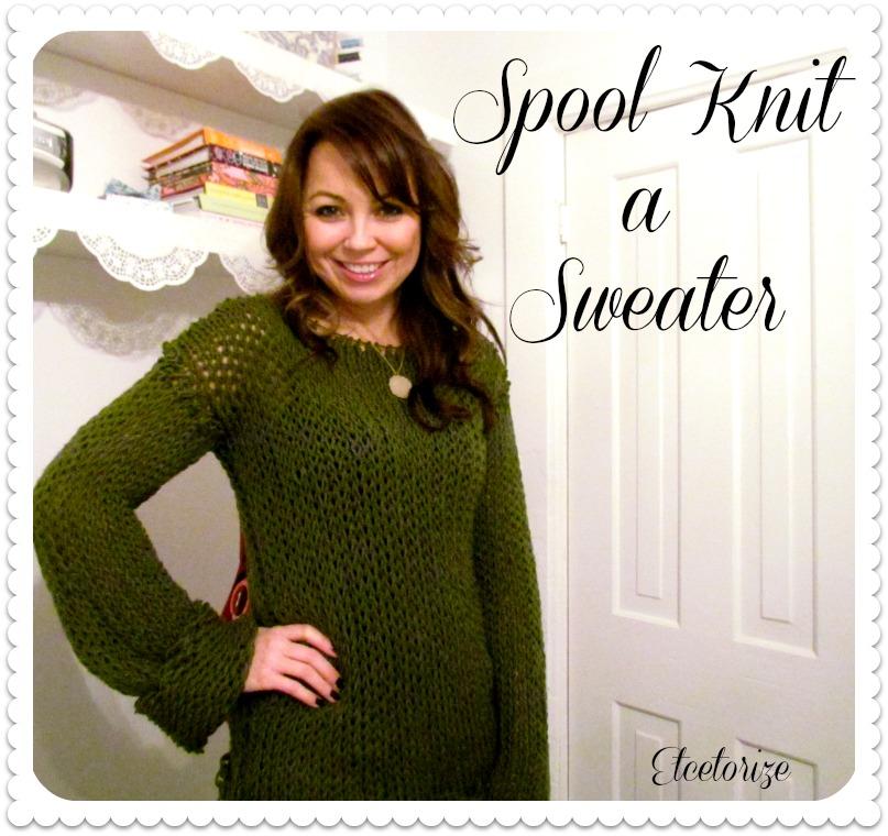 Etcetorize Spool Knit A Sweater