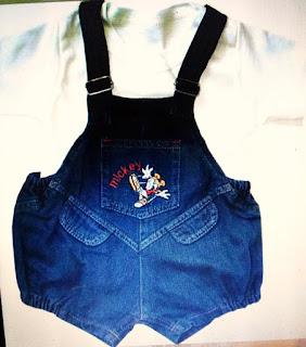Baju Bayi Model Jeans
