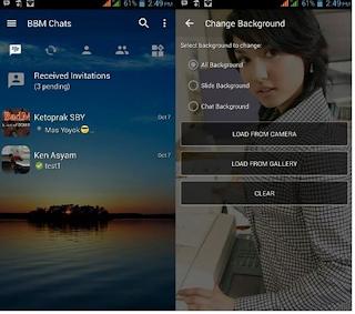 Kumpulan BBM Mod Cewek Cantik Dan Seksi v3.2.0.6 Terbaru, Bikin Ngiler!