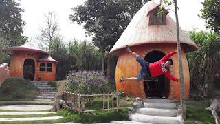 Rumah HobbitCangkringan Jogja 6