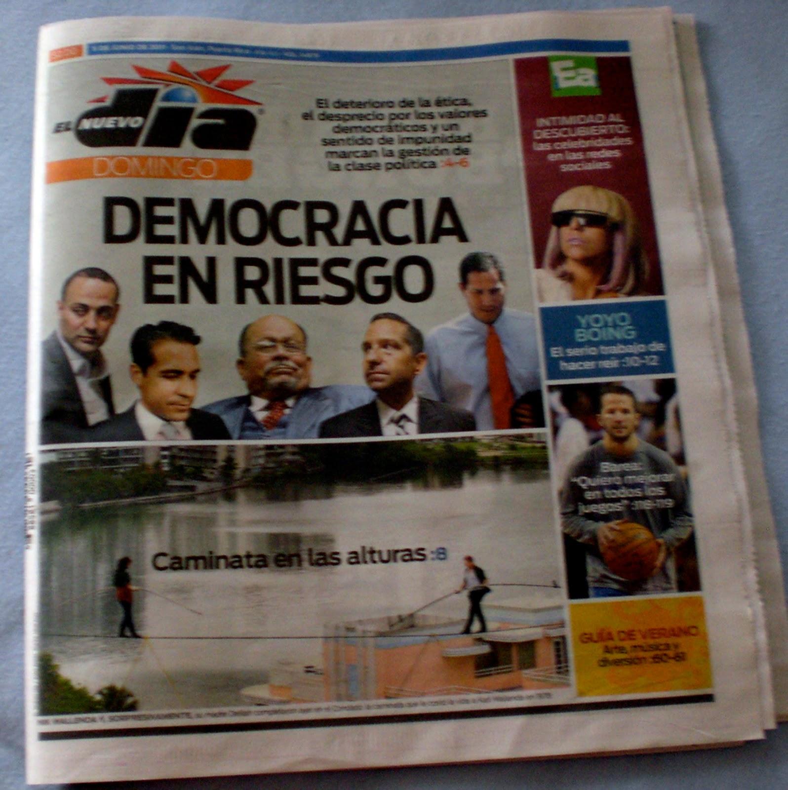 Estrella 51: Democracia en riesgo