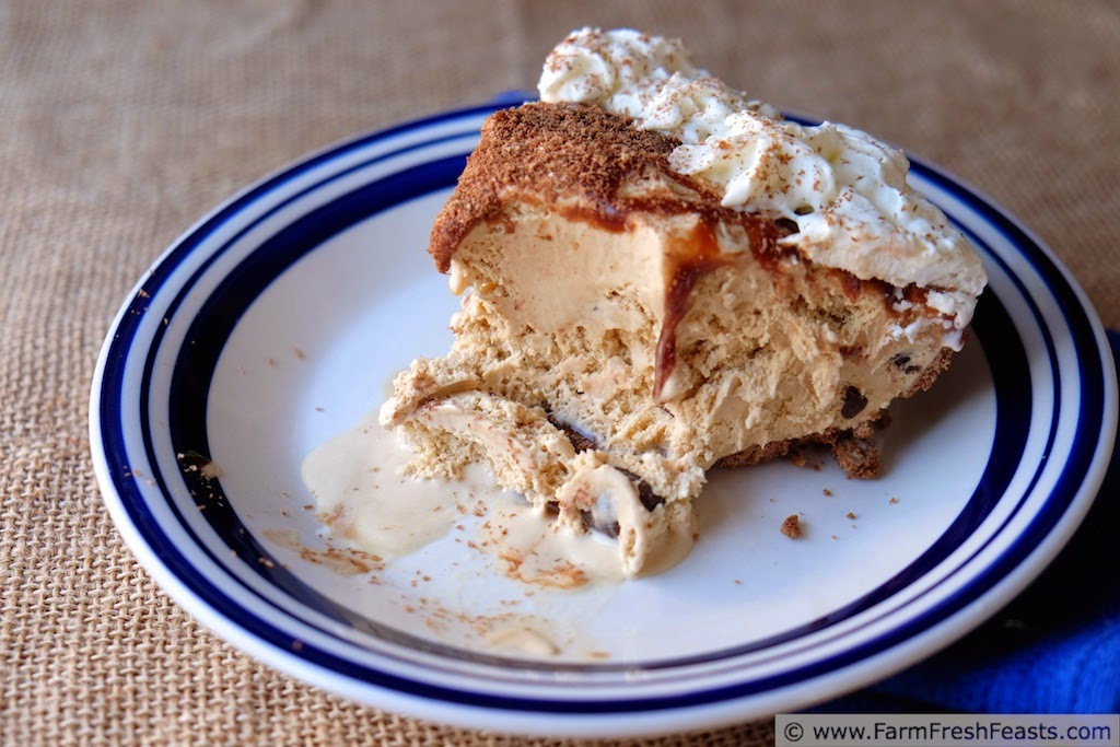 How to Make an Ice Cream Pie at Home by Farm Fresh Feasts