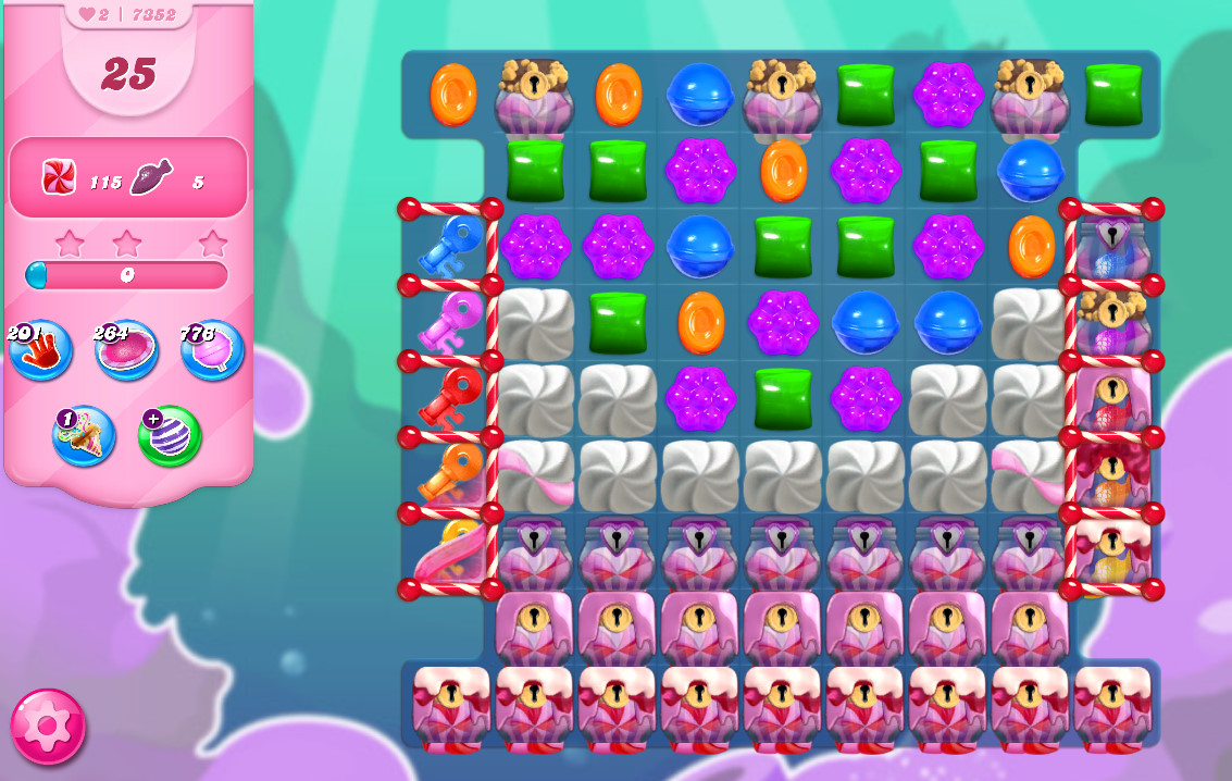 Candy Crush Saga level 7352