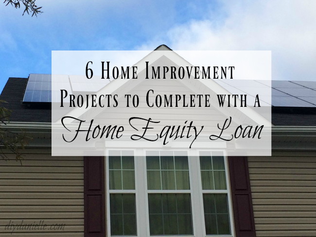 Expensive home improvement projects may be worth taking out a home equity loan to complete.